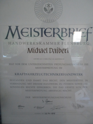 meisterbrief michael daiberl